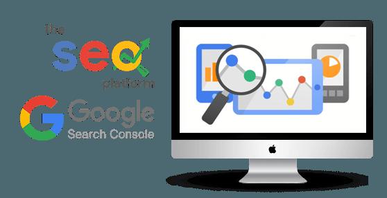 Mac SEO Tools and Google Seach Console Logos